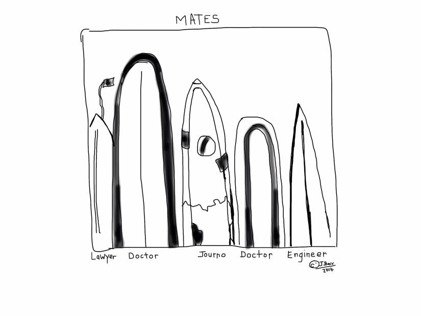 Mates by JBarr 2015